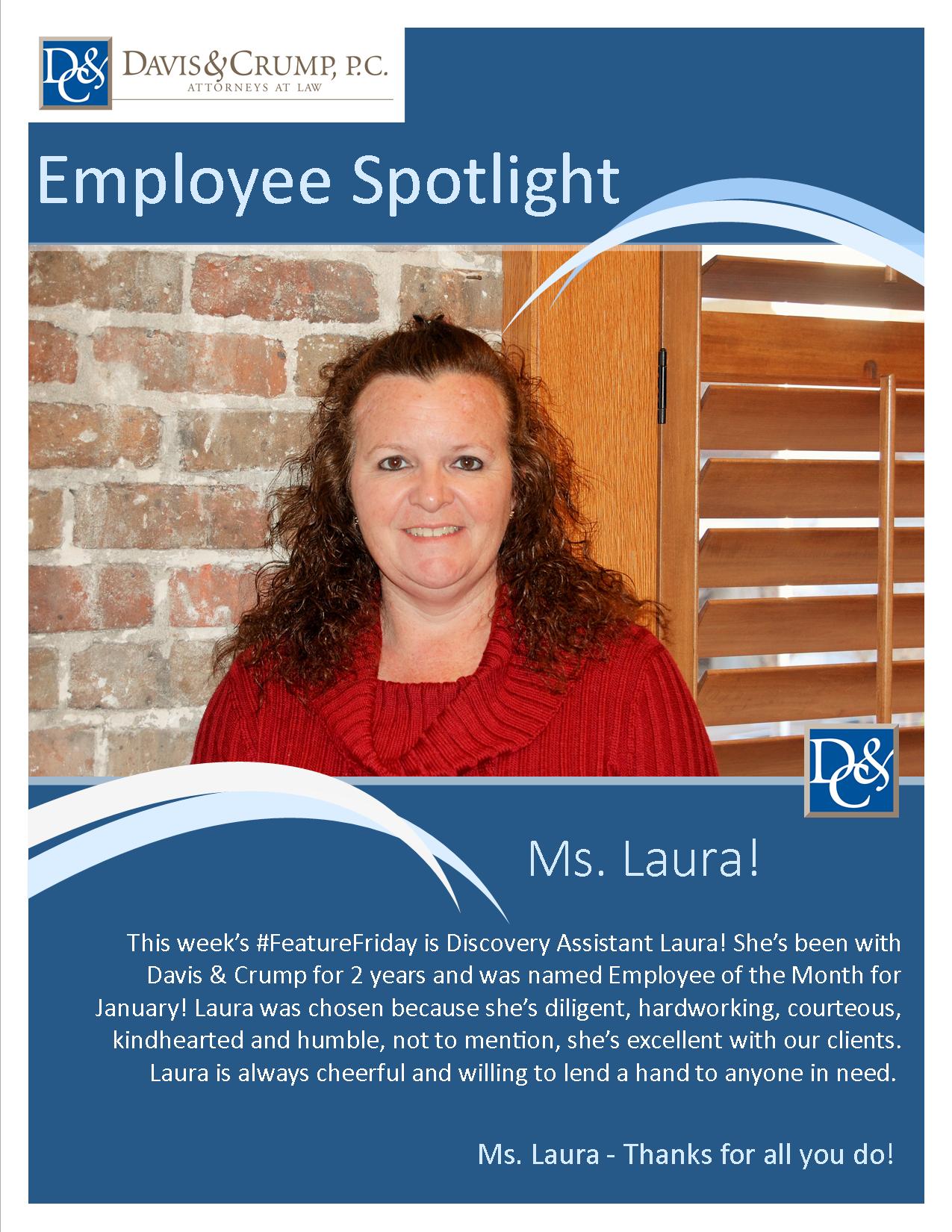 Laura P. 1-30-15