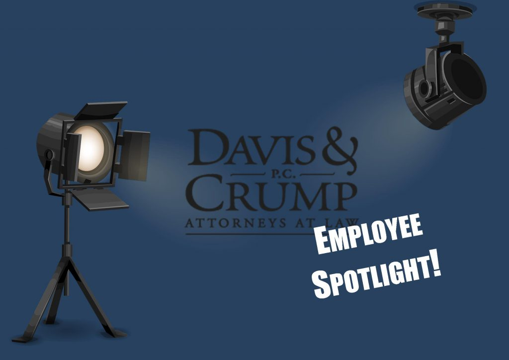 Davis & Crump Employee Spotlight