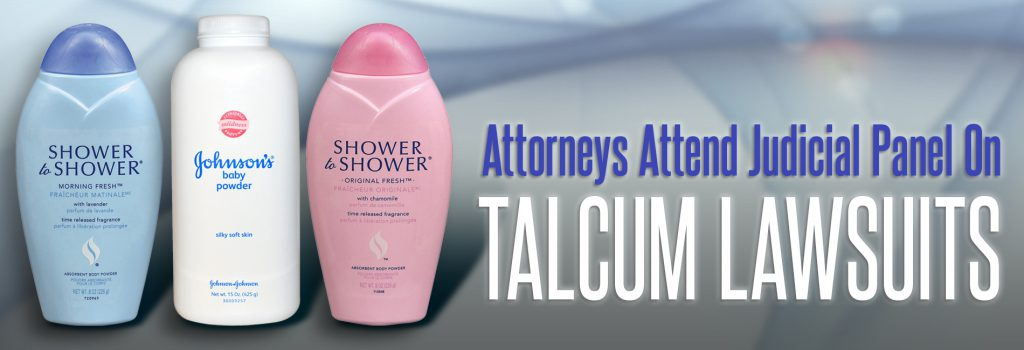 Talcum Powder Lawsuit Panel