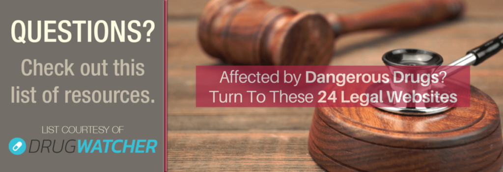 Harmed by Defective Drugs? 24 Go-To Websites