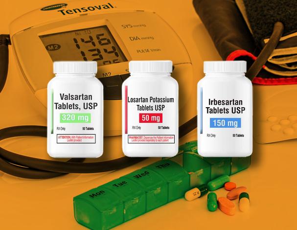 Valsartan Losartan Irbesartan drugs recalled